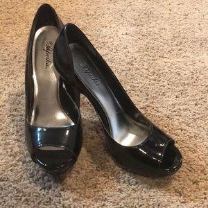 Women's Black Heel